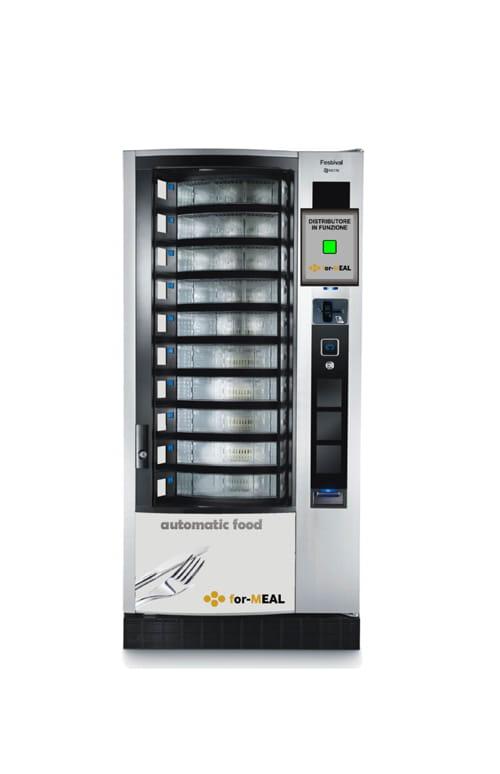 Distributore automatico pasti caldi e freddi, Forteam