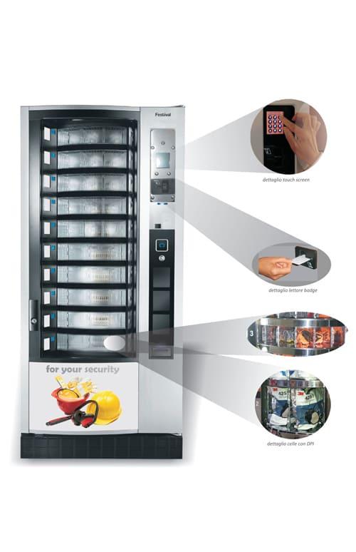 Distributore automatico dispositivi DPI Forteam