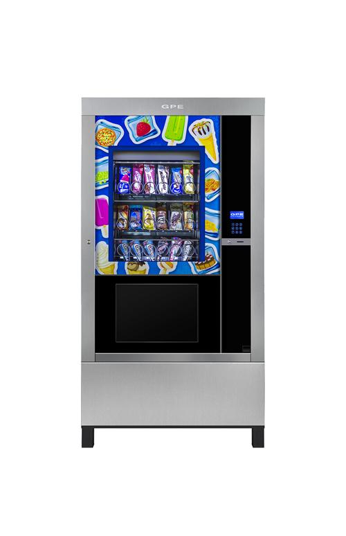 Maxi Store, distributore automatico gelati