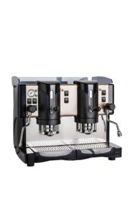 Jessica Spinel, macchina da caffè a due gruppi