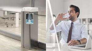 erogatore acqua per ufficio aquality pou