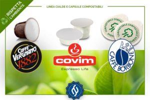 cialde e capsule caffè compostabili