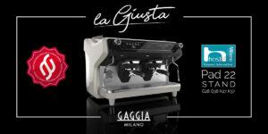 La Giusta Gaggia Milano, macchina da caffè tradizionale