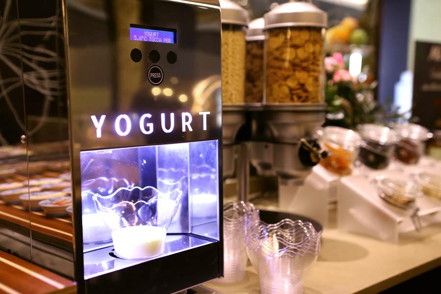 Dispencer e refrigeratore per Yogurt