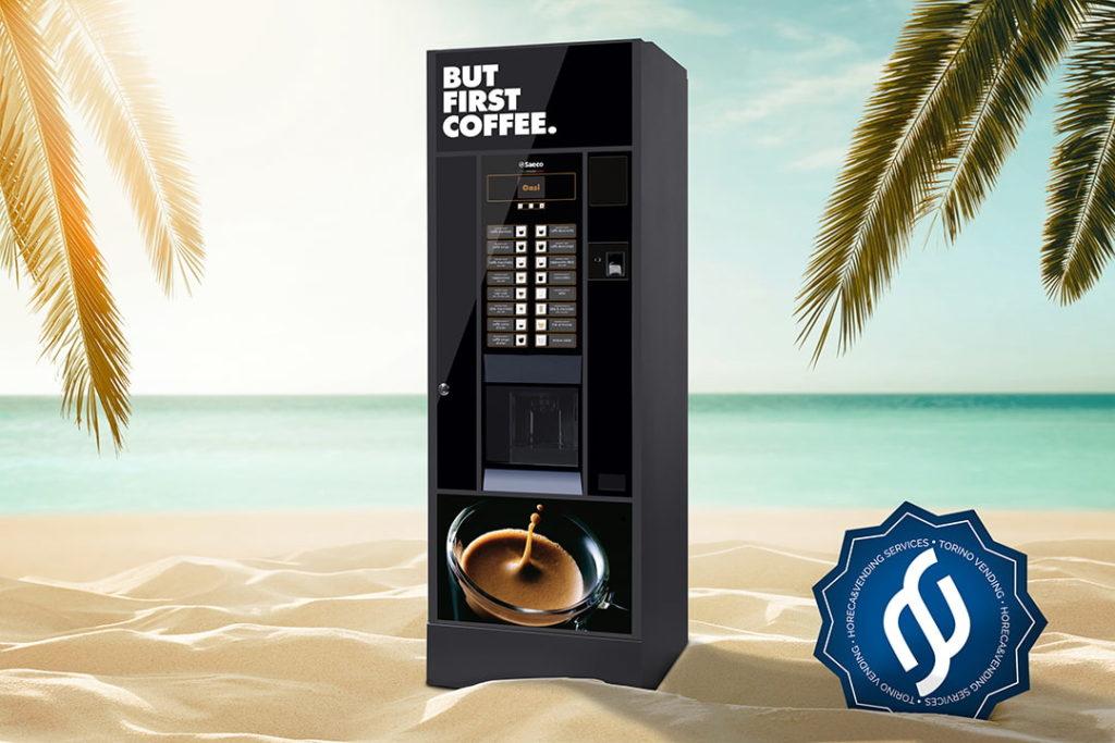 Distributore caffè Saeco Oasi in Spiaggia