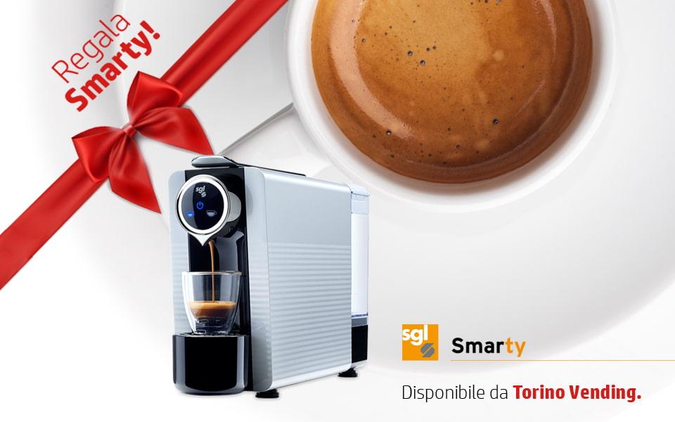 Smarty SGL, piccola macchina da caffè