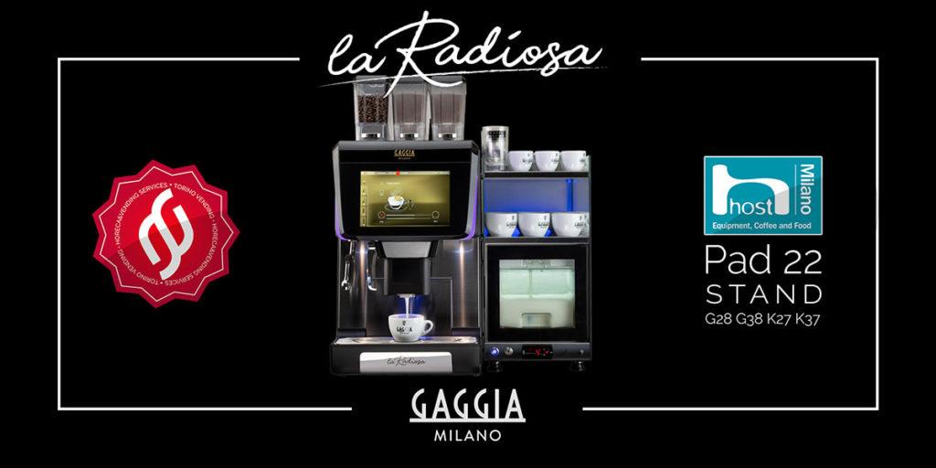La Radiosa, Gaggia Milano, macchina da caffè automatica
