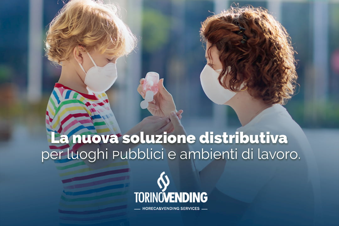 Distributore automatico mascherine, vending dpi guanti, gel salviette igienizzanti