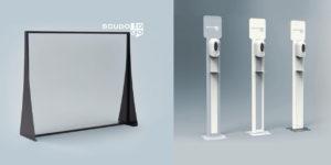 Pannelli divisori in plexiglas