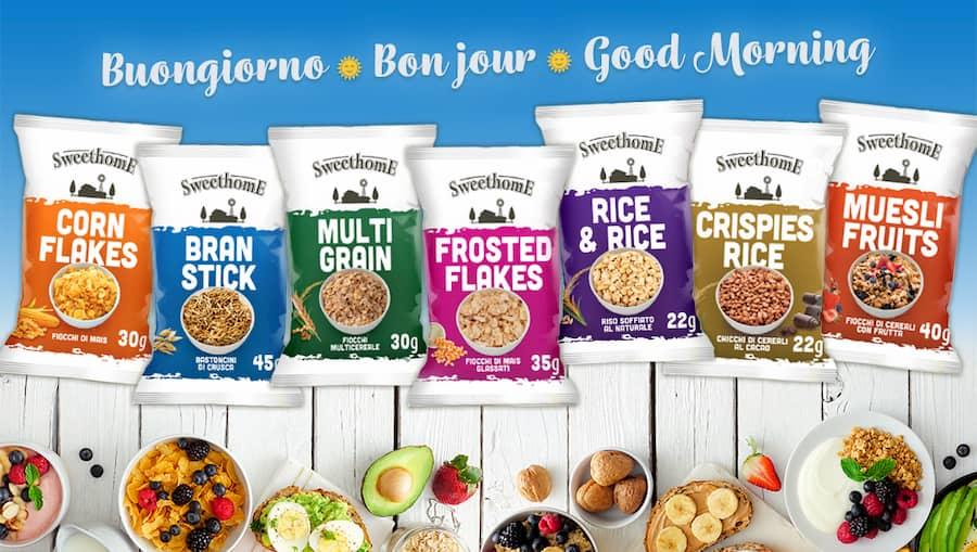 cereali monoporzione prima colazione buongiorno