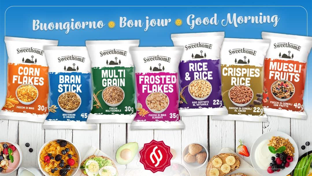 cereali monoporzione prima colazione