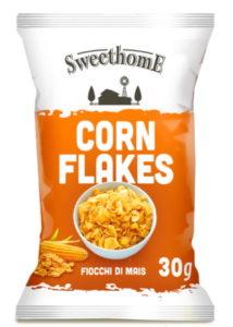 Corn Flakes, cereali classici monoporzione