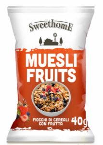 Muesli Fruit, muesli e frutta monoporzione