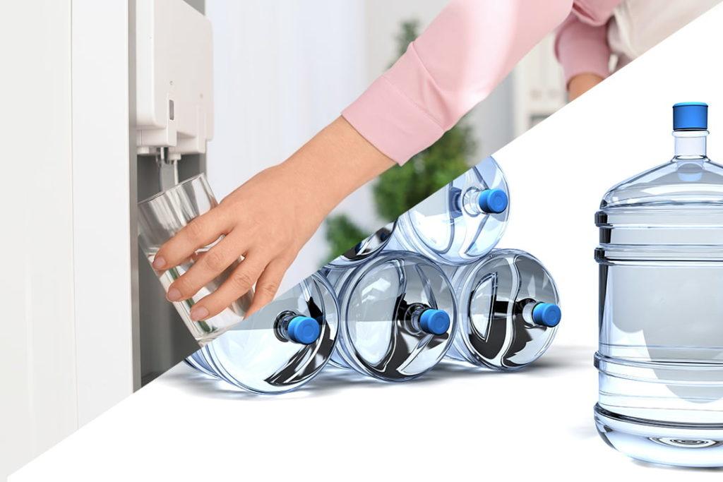 erogatore acqua di rete vs boccione acqua
