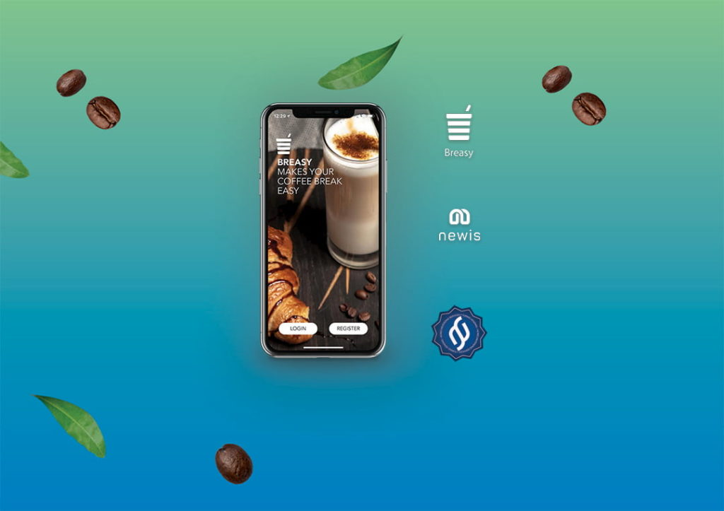 Breasy app, carica la pausa caffè dal tuo smartphone