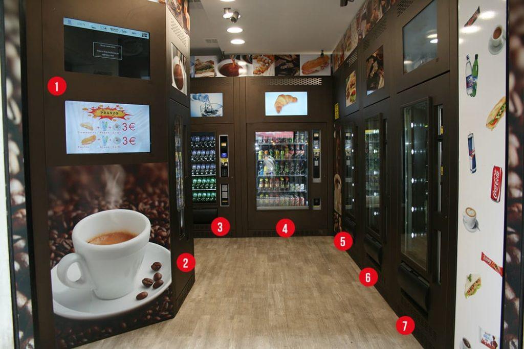 negozi automatici h24, elenco distributori