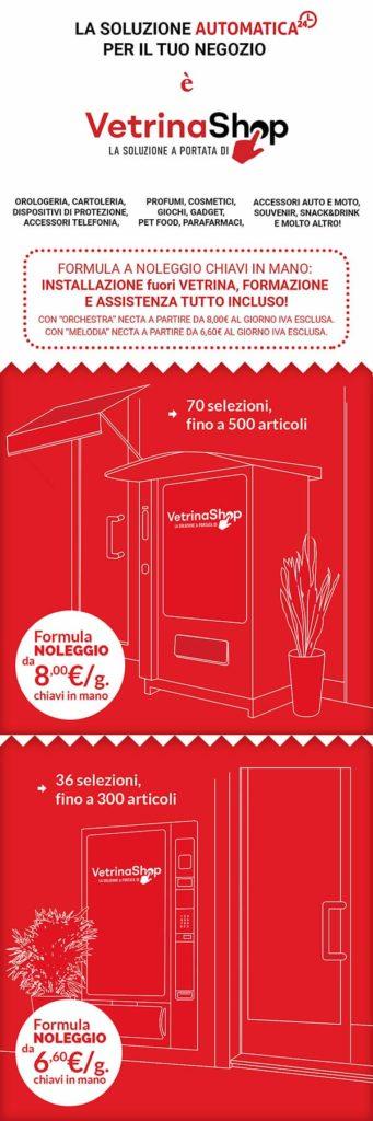 vetrinashop offerta automatica per negozi fisici