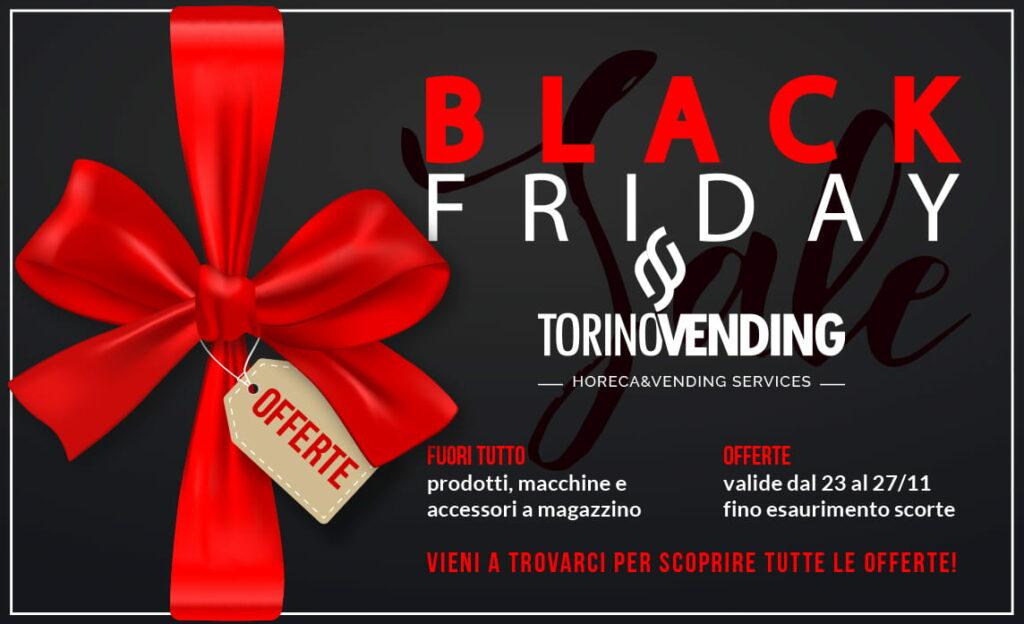 black friday 2020 torino vending