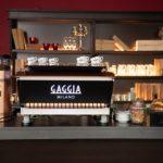 Gaggia La Reale macchina da caffè per bar e caffetterie, vista retro