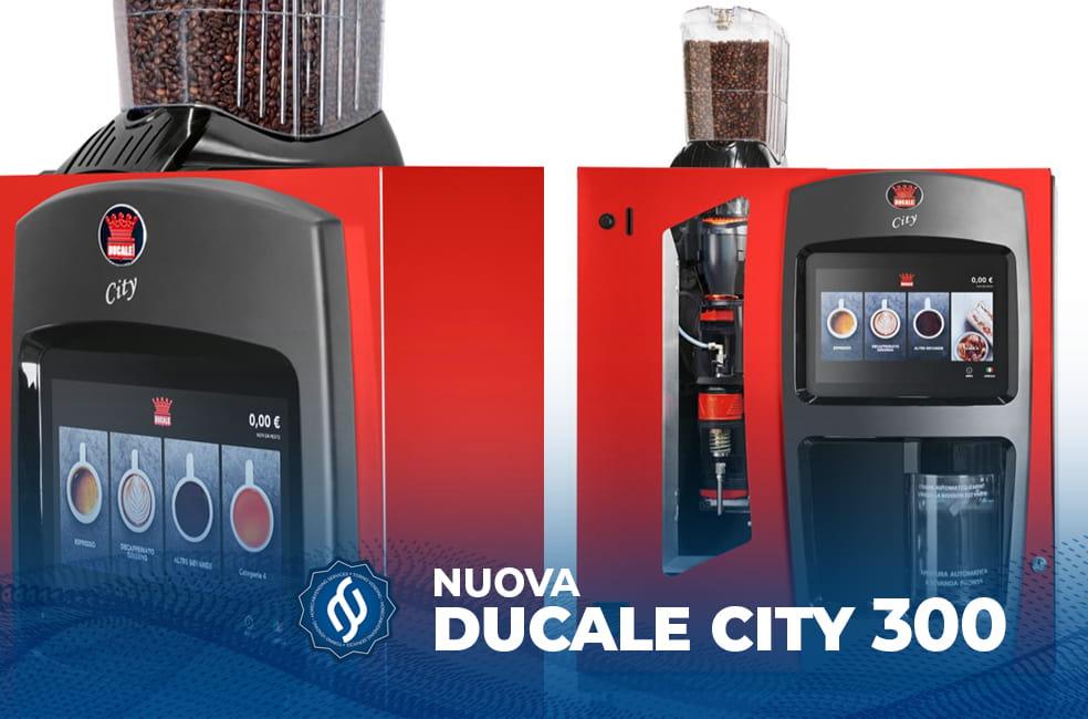 Ducale vending, City 300 distributori automatici caffè