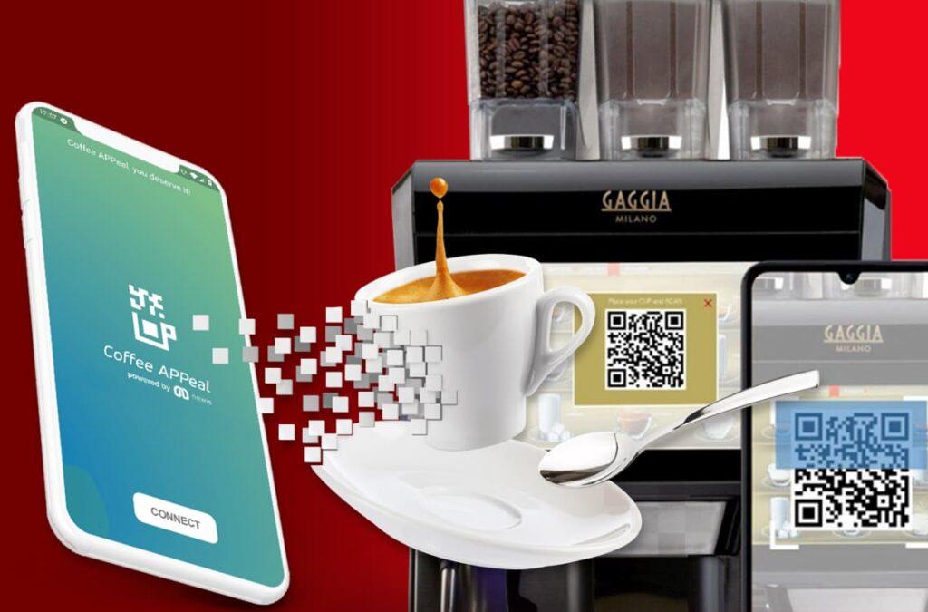 coffee app la sicurezza touchless per macchine da caffè automatiche