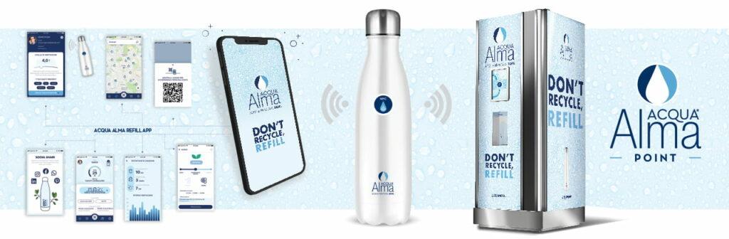 come funziona il distributore acqua digitale