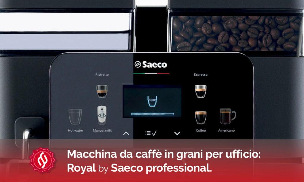 macchina da caffè in grani per ufficio