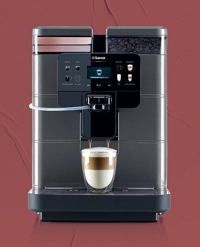 caffè in ufficio macchina da caffè in grani per ufficio Saeco Royal