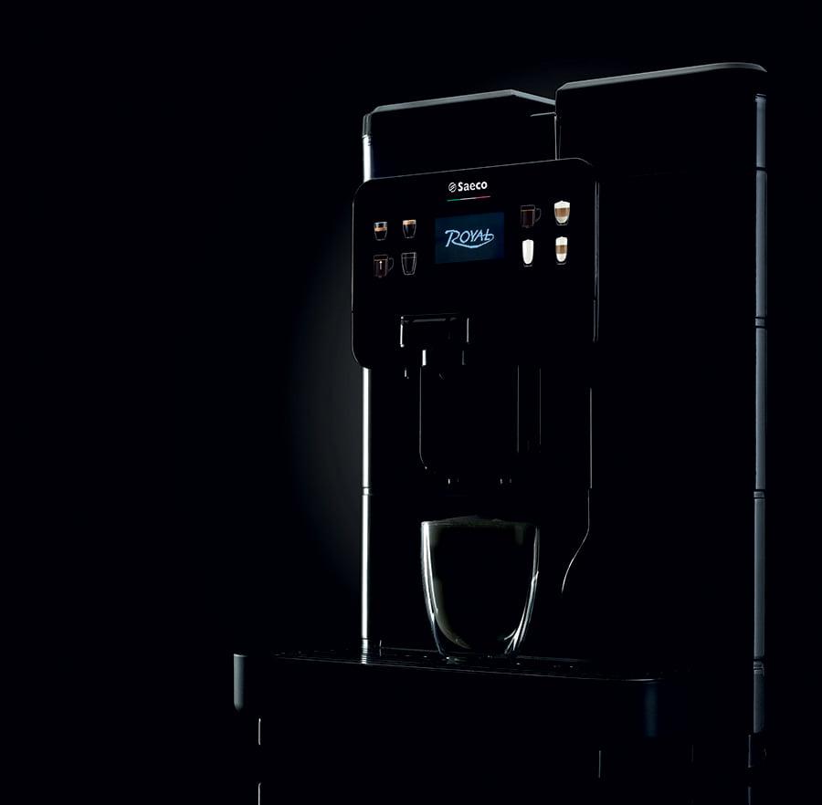 macchina da caffè in grani per ufficio Saeco Royal espresso