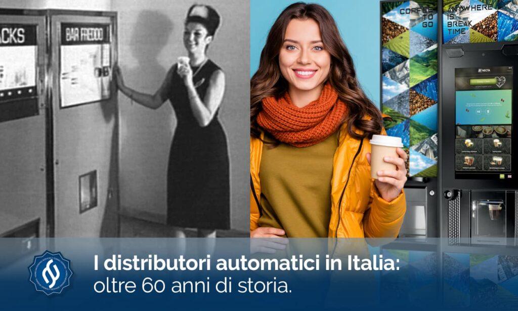 distributori automatici in Italia 60 anni di storia
