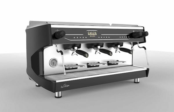 la decisa macchina caffè gaggia 3 gruppi tall-cup