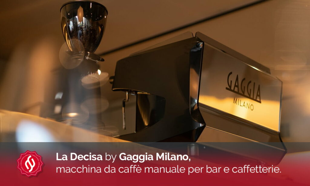 macchina da caffè Gaggia La Decisa, ideale per bar e caffetterie