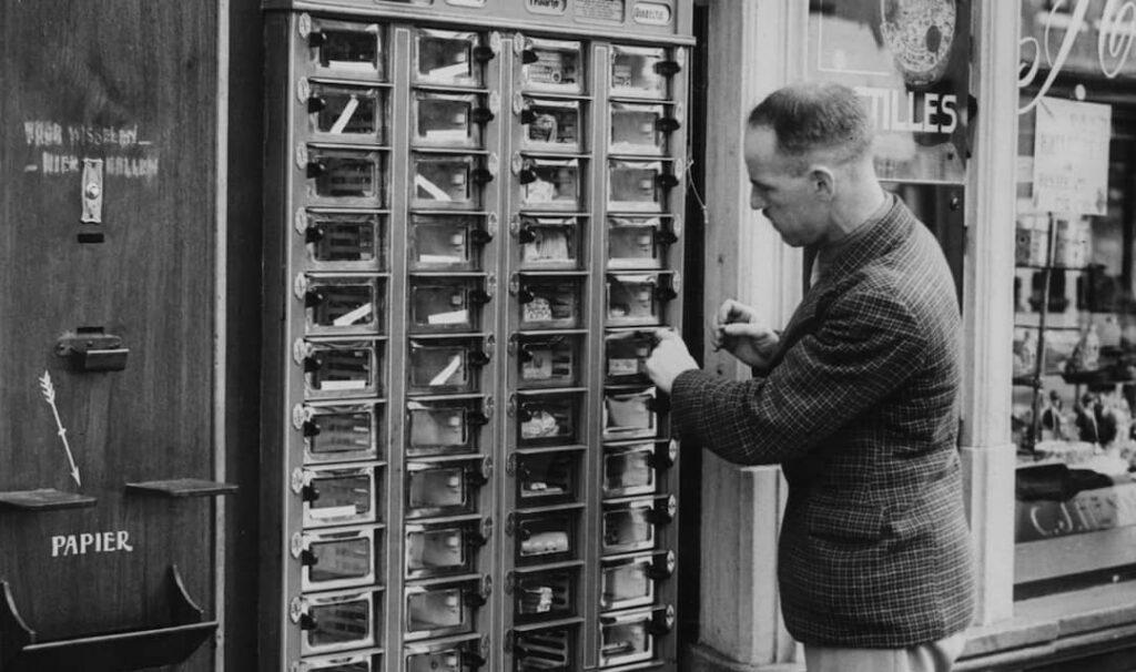 storia del vending distributori automatici