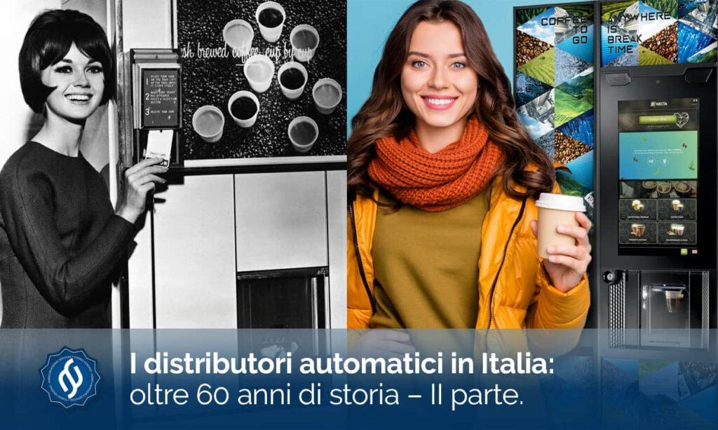 storia dei distributori automatici in Italia - seconda parte