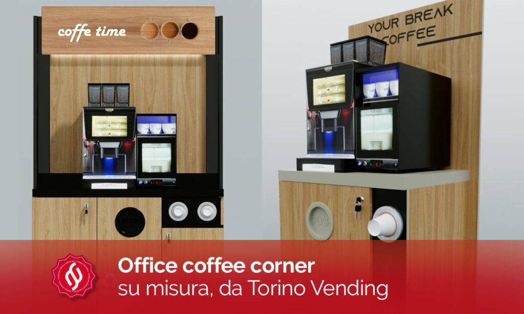 office coffee corner macchine da caffè per ufficio