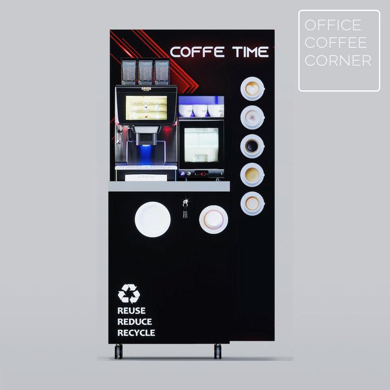 office coffee corner La radiosa by gaggia
