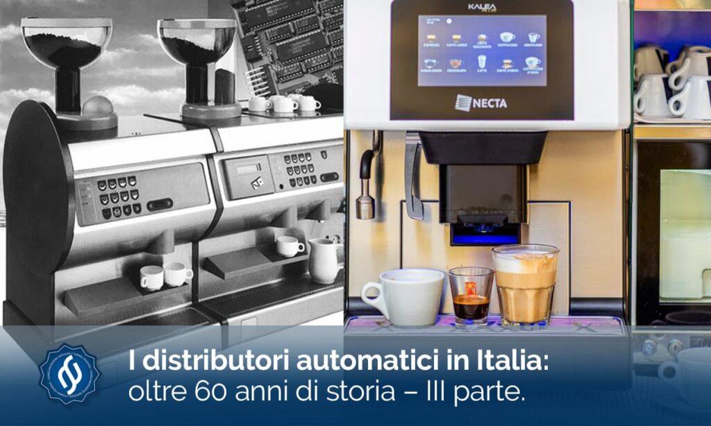 Necta Vending: Storia dei distributori Automatici in Italia