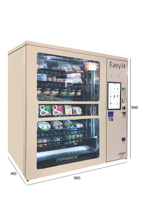 easy 14 magex distributore automatico