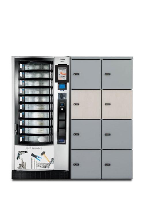distributore automatico Locker automatico