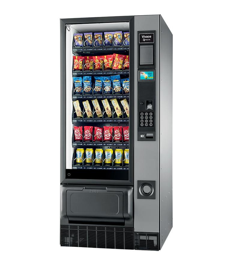 necta vivace vending machine