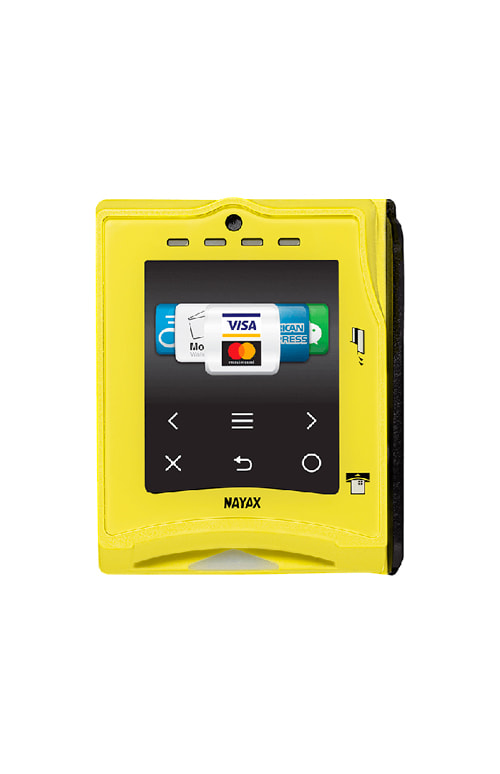 VPOS Touch Nayax sistema di pagamento